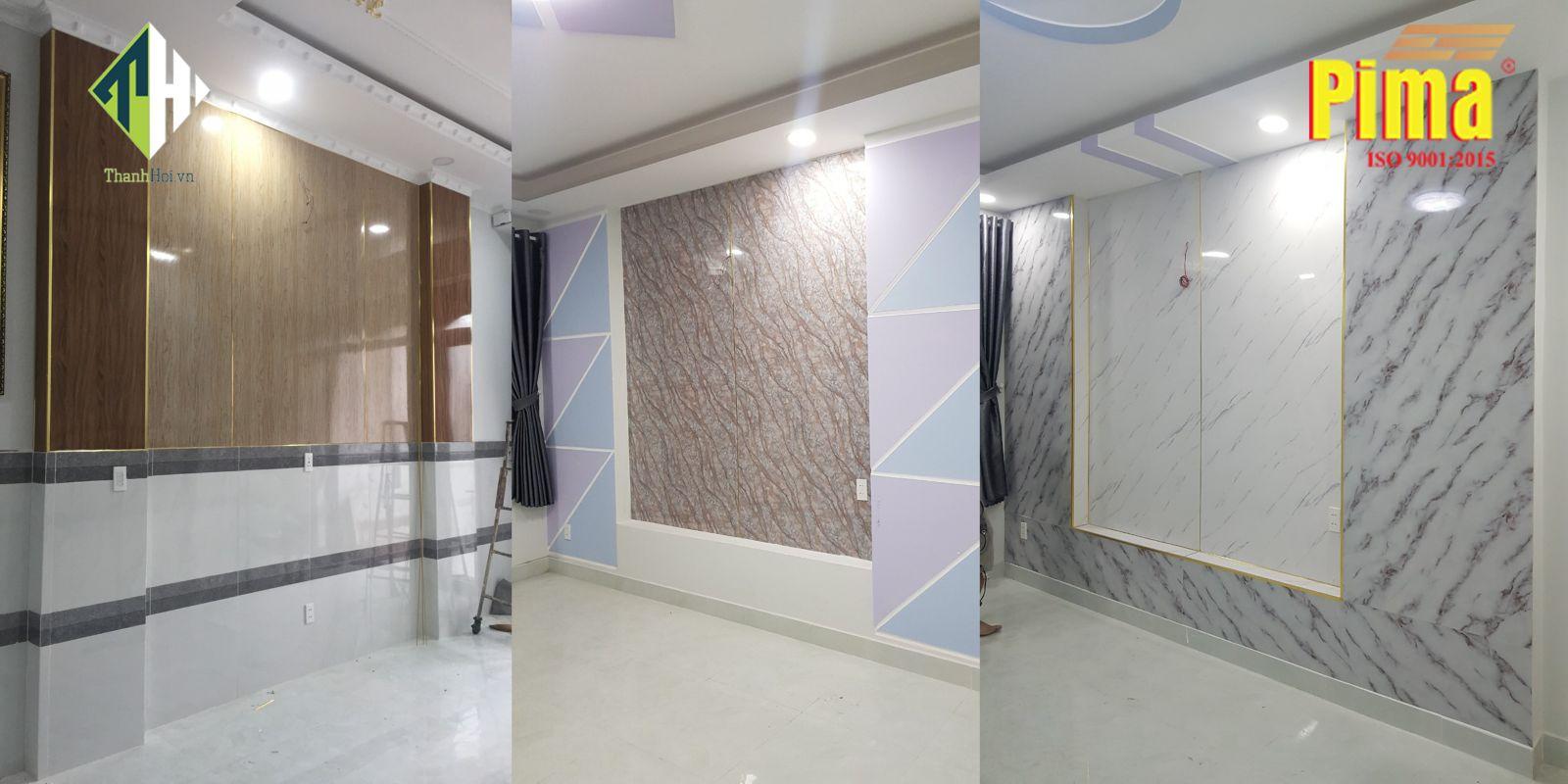 Tấm Nhựa PVC Cẩm Thạch trong công trình của Thành Hội