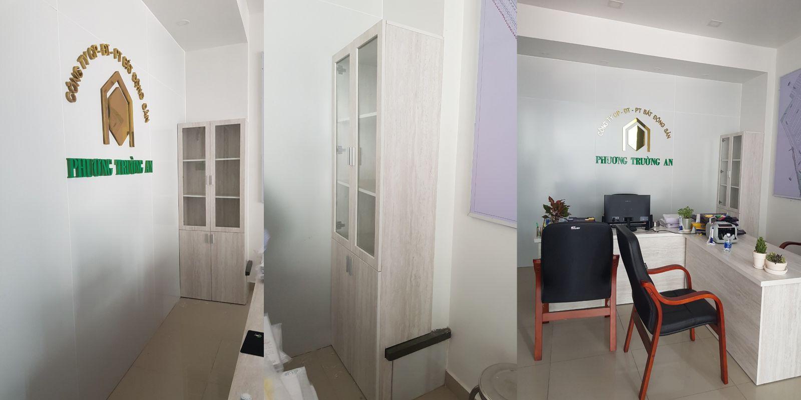 Trọn bộ nội thất văn phòng Công ty BĐS Phương Trường An