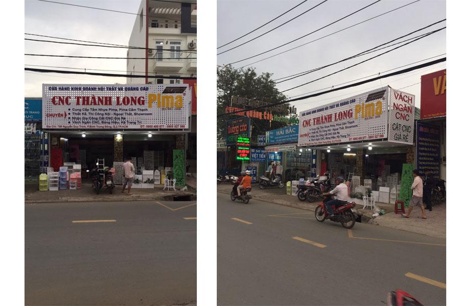 CNC Thành Long tại quận 2 - vách ngăn quận 2
